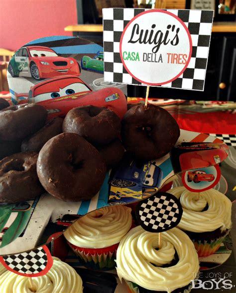 easy disney cars party  joys  boys