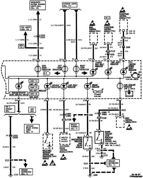 2000 Chevy Camaro Headlight Wiring Diagram by 2000 Camaro Speedometer Wiring Diagram Wiring Library