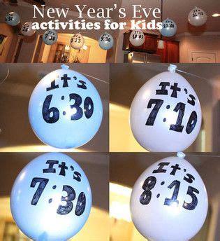 ideen f 252 r silvester mit kindern basteln ideen silvester kinderspiele