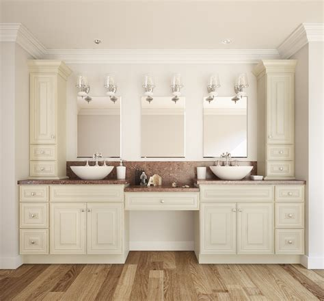 Bathroom Cabinet With by Vanilla Glaze Ready To Assemble Bathroom Vanities