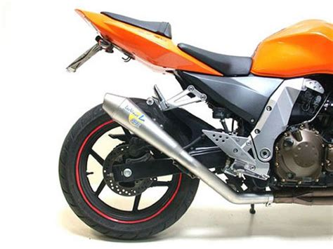 leovince exhaust systems kawasaki z750 2004 2006 sbk gp style evoii oppracing products