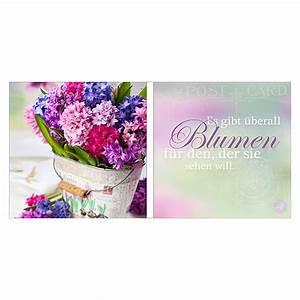 Blumen Im Bauhaus : glasbild blumen 2 tlg je 20 x 20 cm bauhaus ~ Michelbontemps.com Haus und Dekorationen