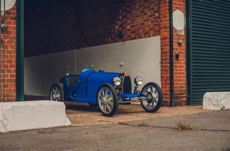 It's 75% of the size of a real bugatti type 35. Reborn Bugatti Baby is 75% scale classic with 42mph top speed | Autocar