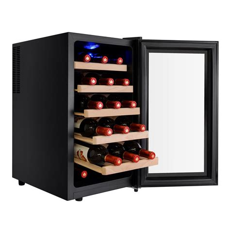 thermoelectric wine cooler newair 18 bottle thermoelectric wine cooler aw 181e the