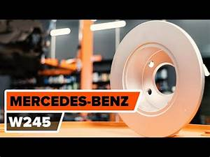 How To Replace Rear Brake Discs And Rear Brake Pads On