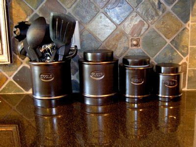 bronze kitchen canisters oil rubbed bronze canisters craft ideas that i don t have time to do pinterest paint oil