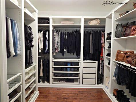 wall unit reving my closet with the ikea pax wardrobe stylish