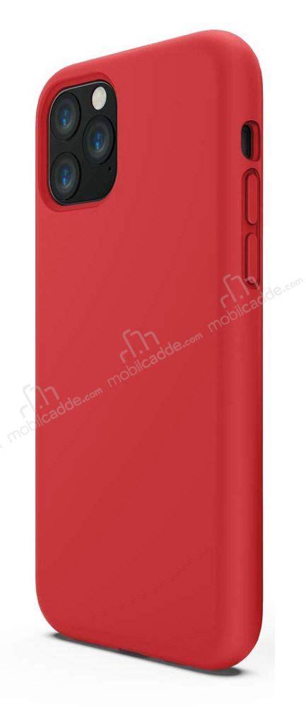 iphone pro max rainbow kirmizi silikon kilif stoktan
