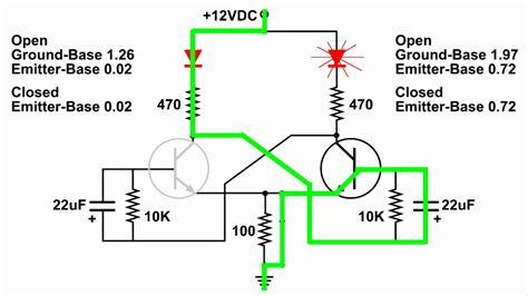 toggle flip flop schematic electronic circuit diagram