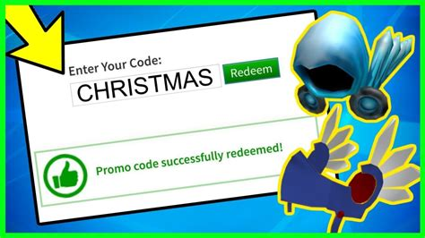 christmas  working promo codes  roblox