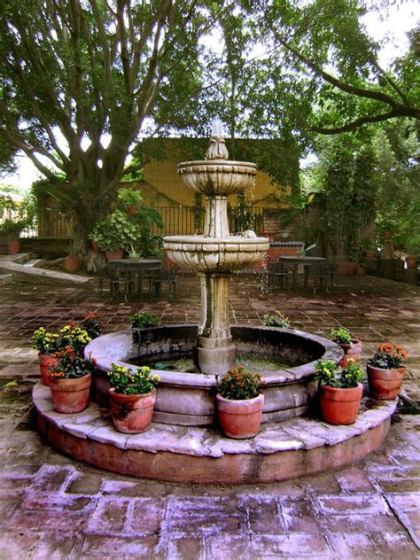 mexican fountains 49 best gorgeous southern gardens images on pinterest secret gardens backyard patio and