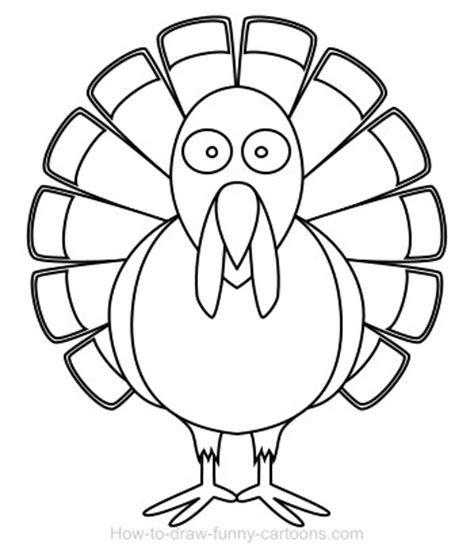 drawing a turkey