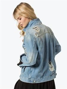 Jeans Mit Schmuckperlen : guess jeans damen jeansjacke hellblau uni online kaufen vangraaf com ~ Frokenaadalensverden.com Haus und Dekorationen