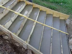 Gravier A Beton : ext rieurs escalier r novation d 39 une maison du beaujolais ~ Premium-room.com Idées de Décoration