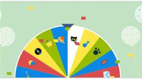 Juegos De La Ruleta Dela Fortuna Del Cumpleaos De Google