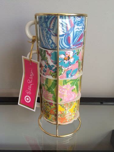 Shop for coffee mug sets at bed bath & beyond. Lilly-Pulitzer-For-Target-Espresso-Cups-Mugs-Set-Four ...