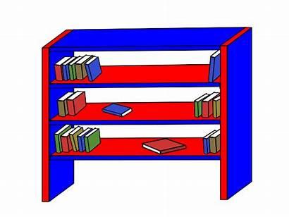 Bookshelf Clipart Clip Cliparts Advertisement Favorites
