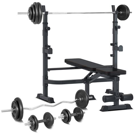 Home Bench Press Machine by Home Bench Press With 120kg Weight Package Elite Fitness