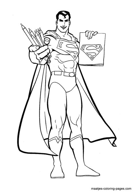 superman coloring pages  boys kids coloring pages