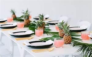 Deco Table Tropical : deco de table ~ Teatrodelosmanantiales.com Idées de Décoration