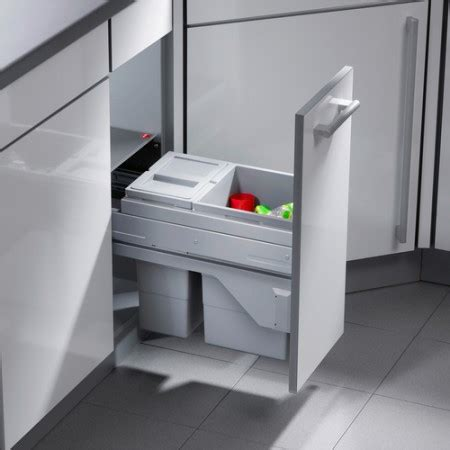 under cabinet trash bins simplehuman 35 litre kitchen under counter pull out