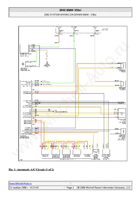 Bmw Wiring Diagrams Sch Service Manual Download
