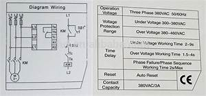 Phase Failure Relay Wiring Diagram   34 Wiring Diagram Images