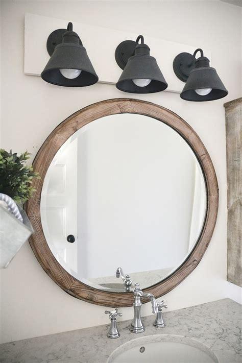 Diy Farmhouse Bathroom Vanity Light Fixture  Liz Marie Blog