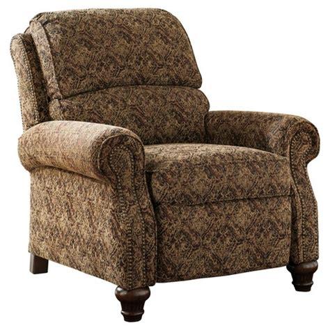 walworth accent low leg recliner garnet signature design