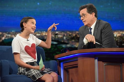 millie bobby brown robert brown millie bobby brown just sang a medley of your
