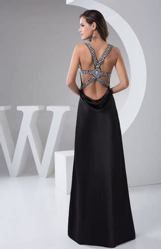black long homecoming dress unique chic western country