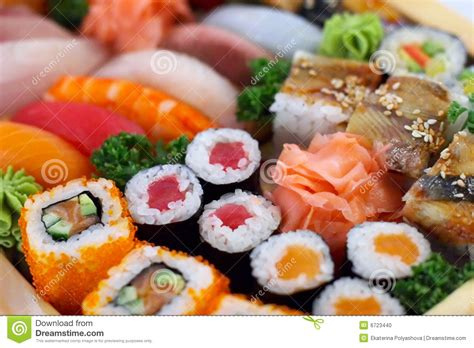 cuisine tradition traditional japanese food stock photo image of fish