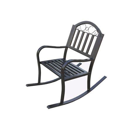 lakeland mills patio rocking chair cf1125 the home depot