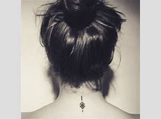 25 Best Pictures to Get Ideas for Female Neck Tattoos Design