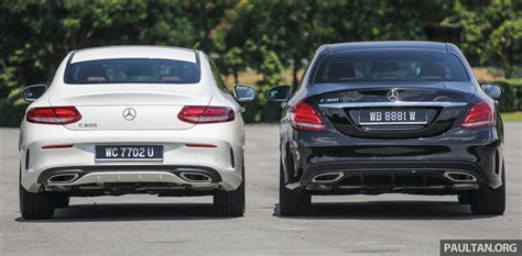 GALLERY: Mercedes-Benz C300 Coupe vs sedan Image 495923