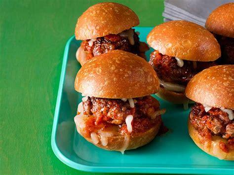 mini meatball sliders recipe ree drummond food network