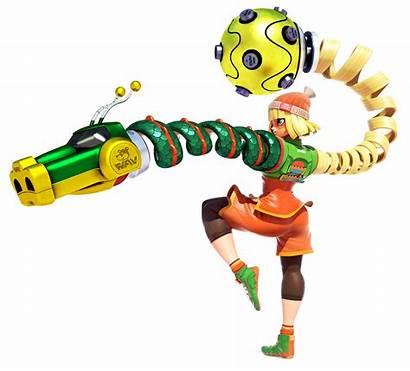Min Arms Nintendo Switch Characters Minmin Twintelle