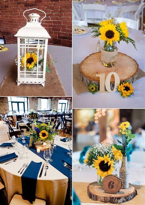 pretty  bright sunflower wedding ideas page