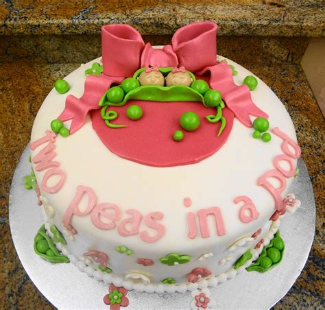 peas in a pod baby shower two peas in a pod baby shower cake for baby
