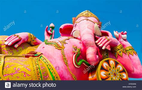 The Lord Of Blue Sky lord ganesha lotus stock photos lord ganesha lotus stock
