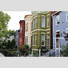 Shaw Row Houses  Washington Dc Real Estate  Attached Homes