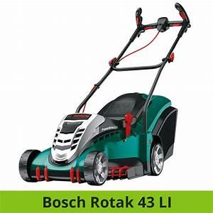 Bosch Accu Rasenmäher : bosch rotak 43 li vergleich akku rasenm her ~ Eleganceandgraceweddings.com Haus und Dekorationen