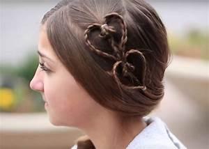 Haarband Für Dutt : 8 freche m dchenfrisuren zum selber machen ~ Frokenaadalensverden.com Haus und Dekorationen