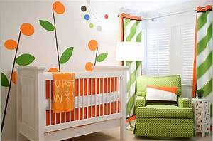 17 baby nursery design ideas world inside pictures With chambre bébé design avec fleur couronne