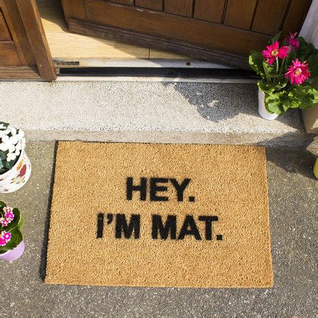 Design A Doormat by Buy Artsy Doormats I M Mat Door Mat Amara