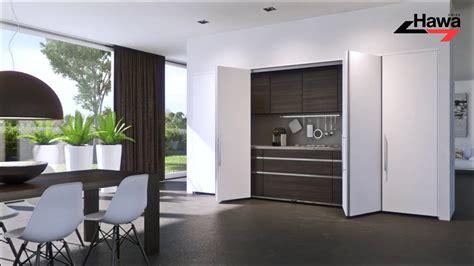 Sliding Folding Cabinet Doors by Hawa Concepta 25 30 40 50 Hawa Folding Concepta 25