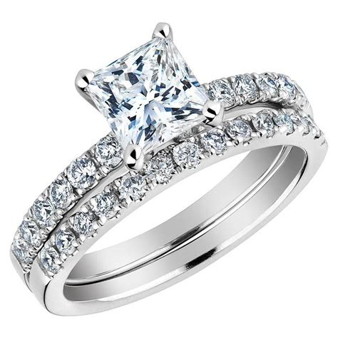 wedding rings real diamonds wedding band for wedding bands for with princess cut diamonds