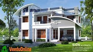 2500, Sq, Ft, 4, Bhk, Double, Floor, Modern, Home, Design
