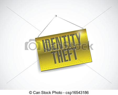 Vector Of Identity Theft Hanging Banner Illustration. Donut Signs. Jealous Signs. Monogram Stickers. Fabric Painting Murals. Doctor Office Murals. Ho Scale Signs. Testicular Cancer Signs. Lipsense Banners