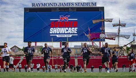 notable nfl players    xfl tampa summer showcase